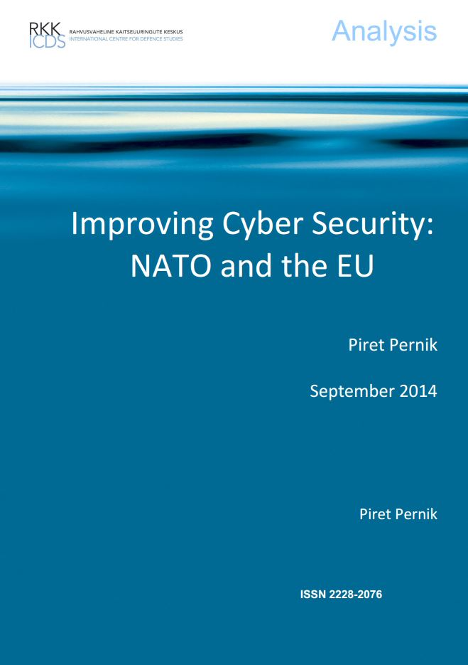 Image for Improving Cyber Security: NATO and the EU