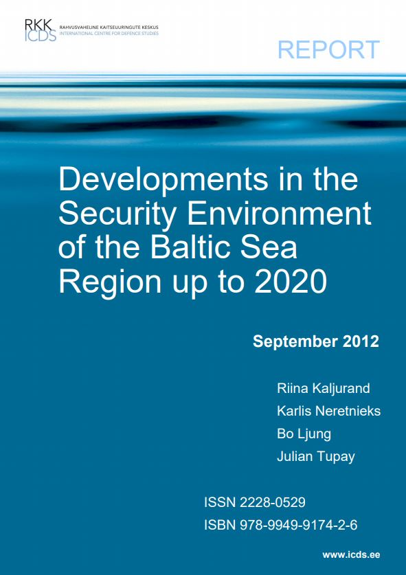 Image for Developments in the Security Environment of the Baltic Sea Region up to 2020