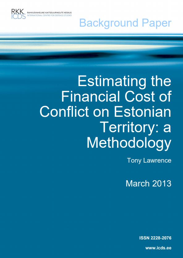 Image for Estimating the Financial Cost of Conflict on Estonian Territory: a Methodology