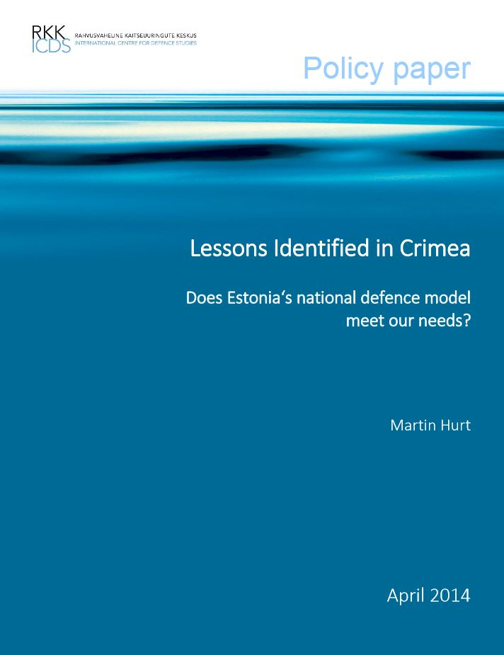 Image for Lessons Identified in Crimea