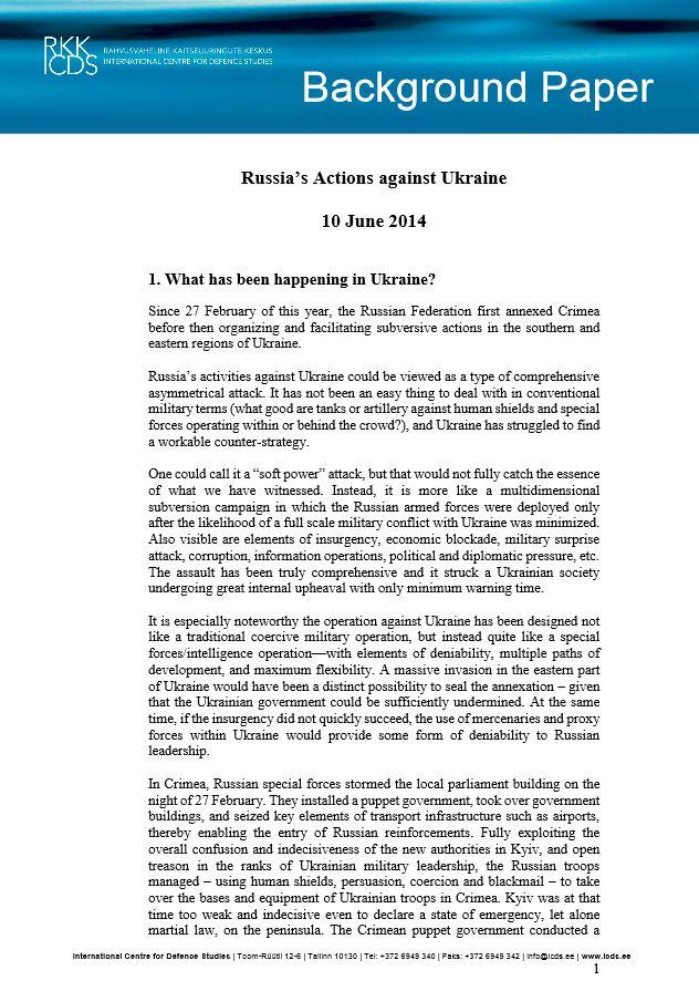 Image for Антиукраинская деятельность России