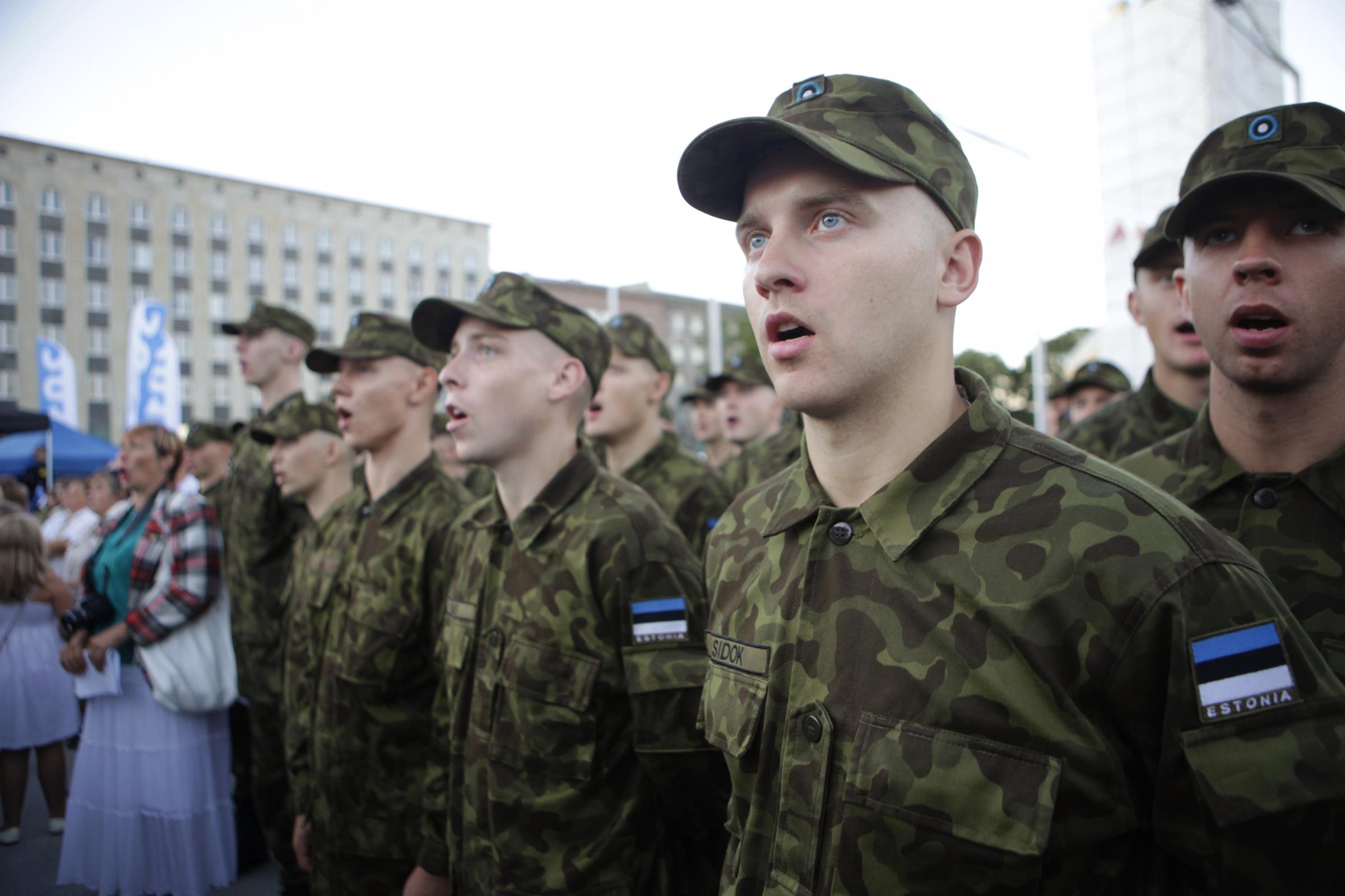 Image for Взаимодействие Эстонии с гражданами иностранных государств и вооружёнными силами