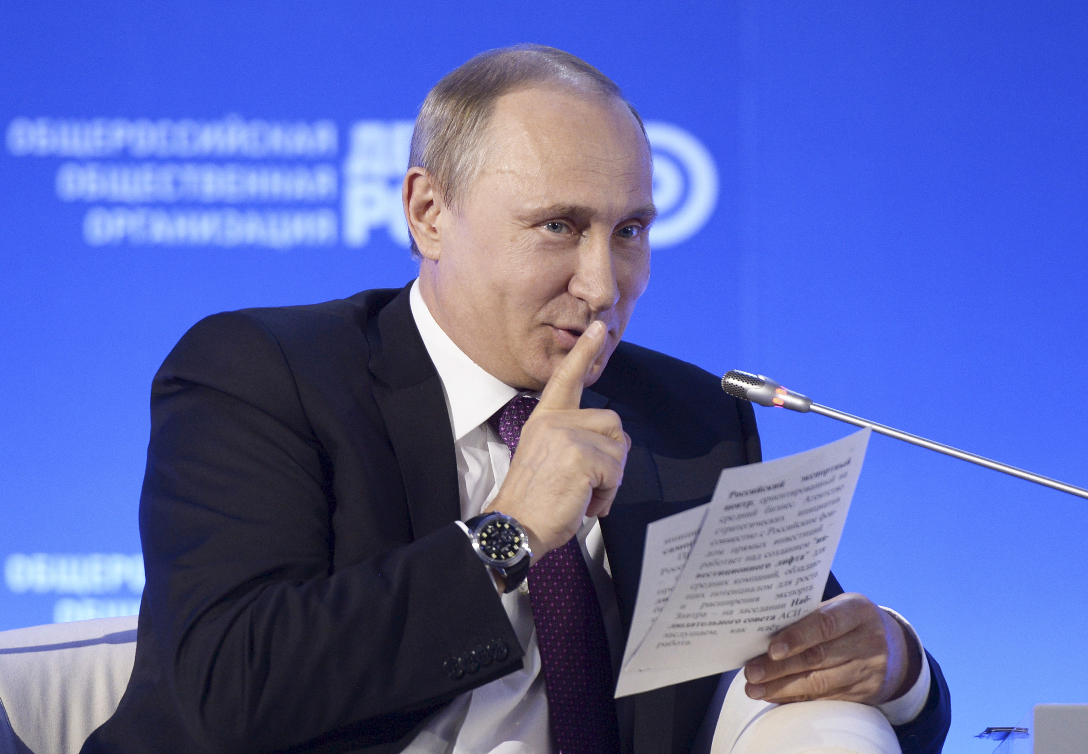 Image for What If Putin Admitted Russia's Real Role in Eastern Ukraine?