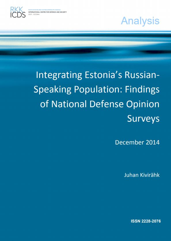 Image for Integrating Estonia's Russian-Speaking Population: Findings of National Defense Opinion Surveys