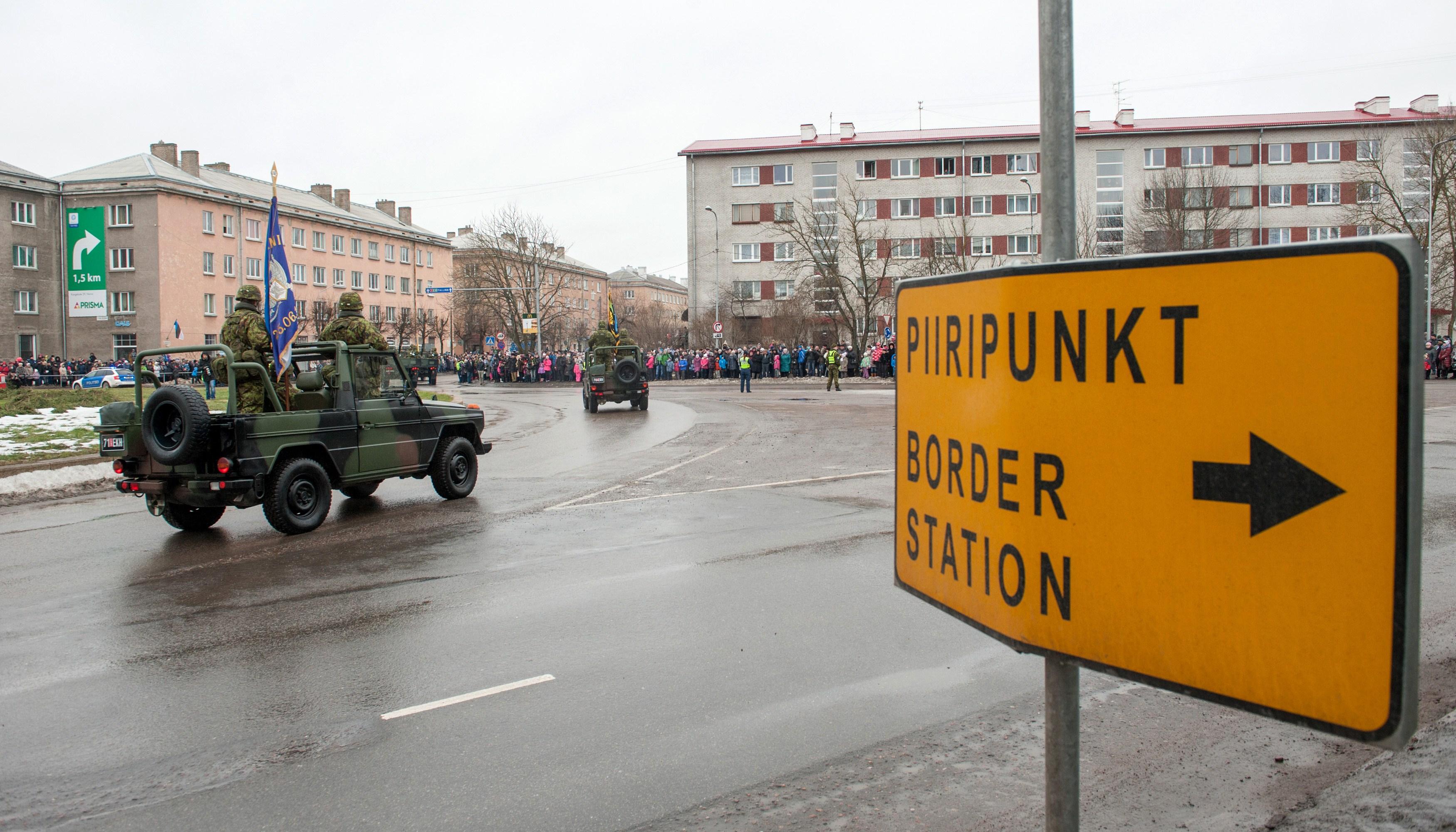 Image for Как Эстония сплутовала на границе…
