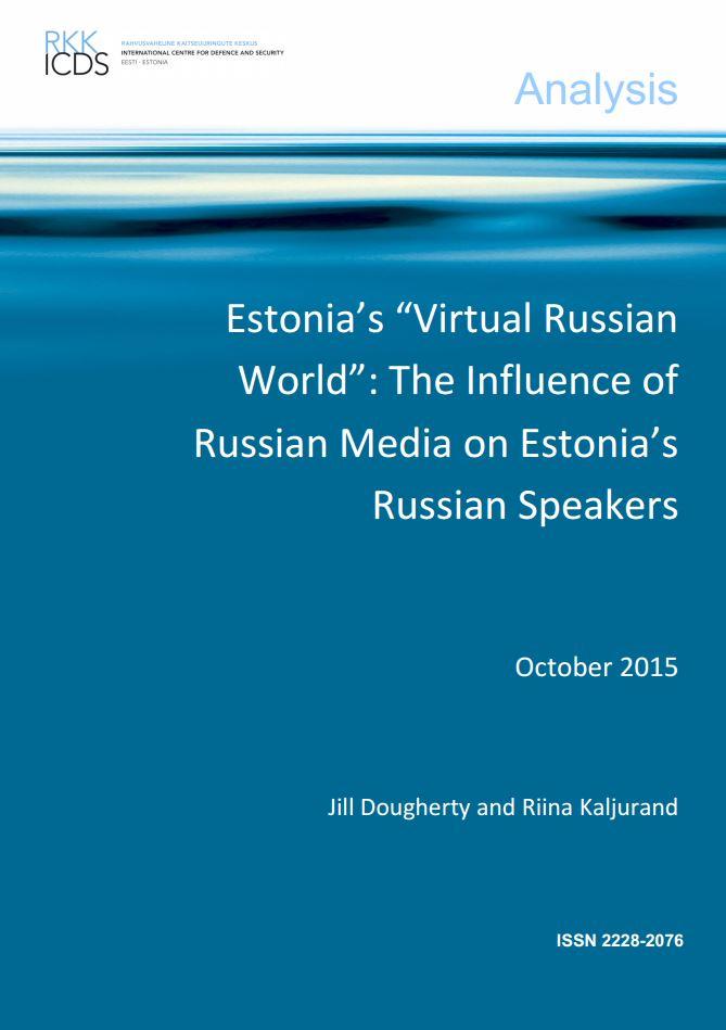 """Image for Estonia's """"Virtual Russian World"""": The Influence of Russian Media on Estonia's Russian Speakers"""