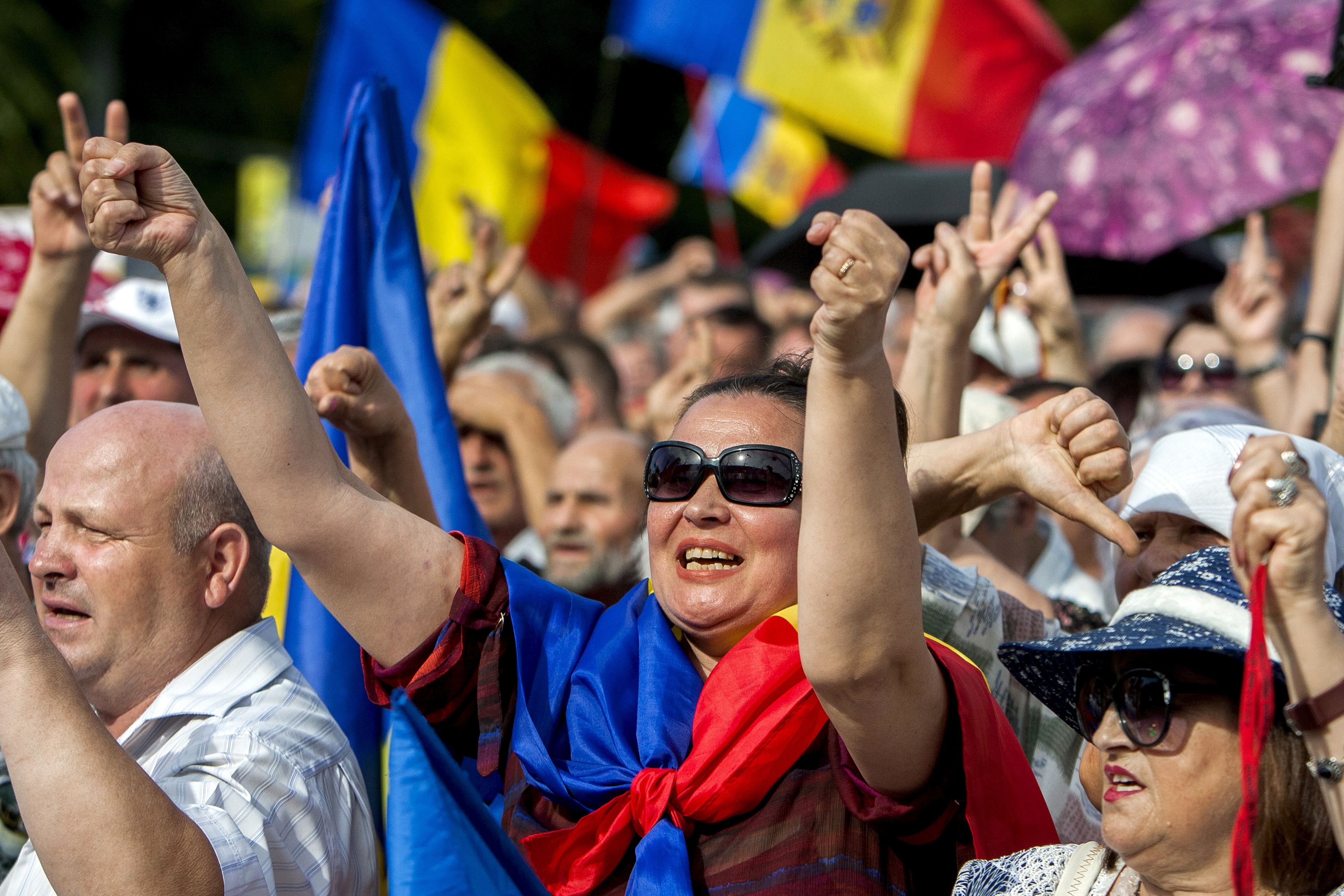 Image for Toppling Moldova's Government: Popular Movement or Political Operation?