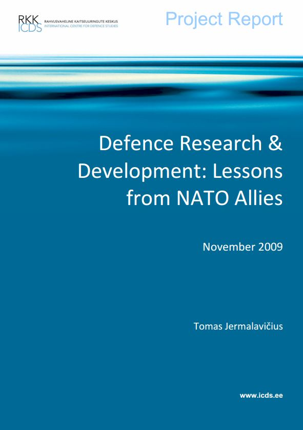 Image for Defence R&D: Lessons from NATO Allies