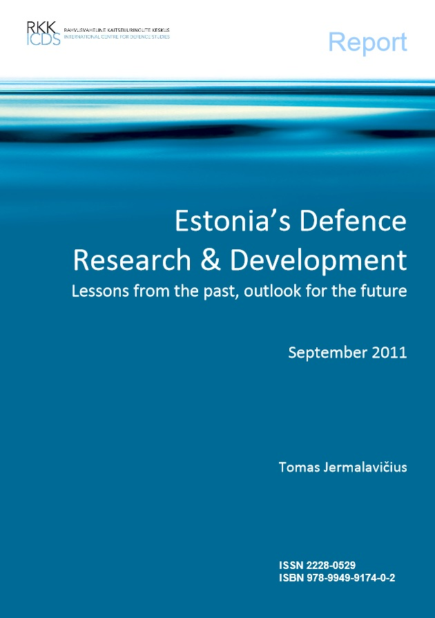 "Image for Report ""Estonia's Defence Research & Development: Lessons from the past, outlook for the future"""