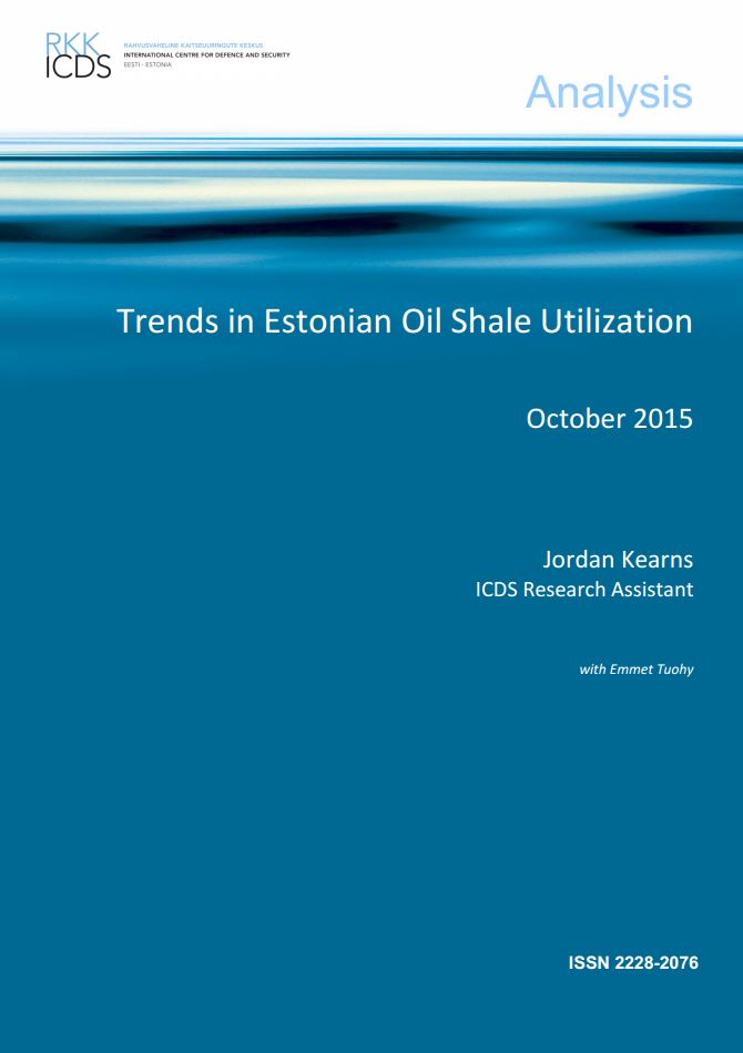 Image for Trends in Estonian Oil Shale Utilization
