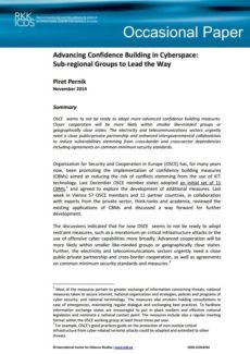 Image for Дополнительное укрепление доверия в киберпространстве: лидируют субрегиональные группы