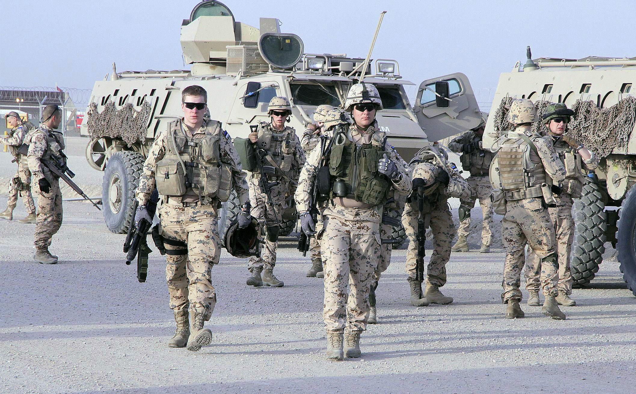 Image for Henrik Praks Spoke on Estonian Experiences in Contributing to NATO Operations