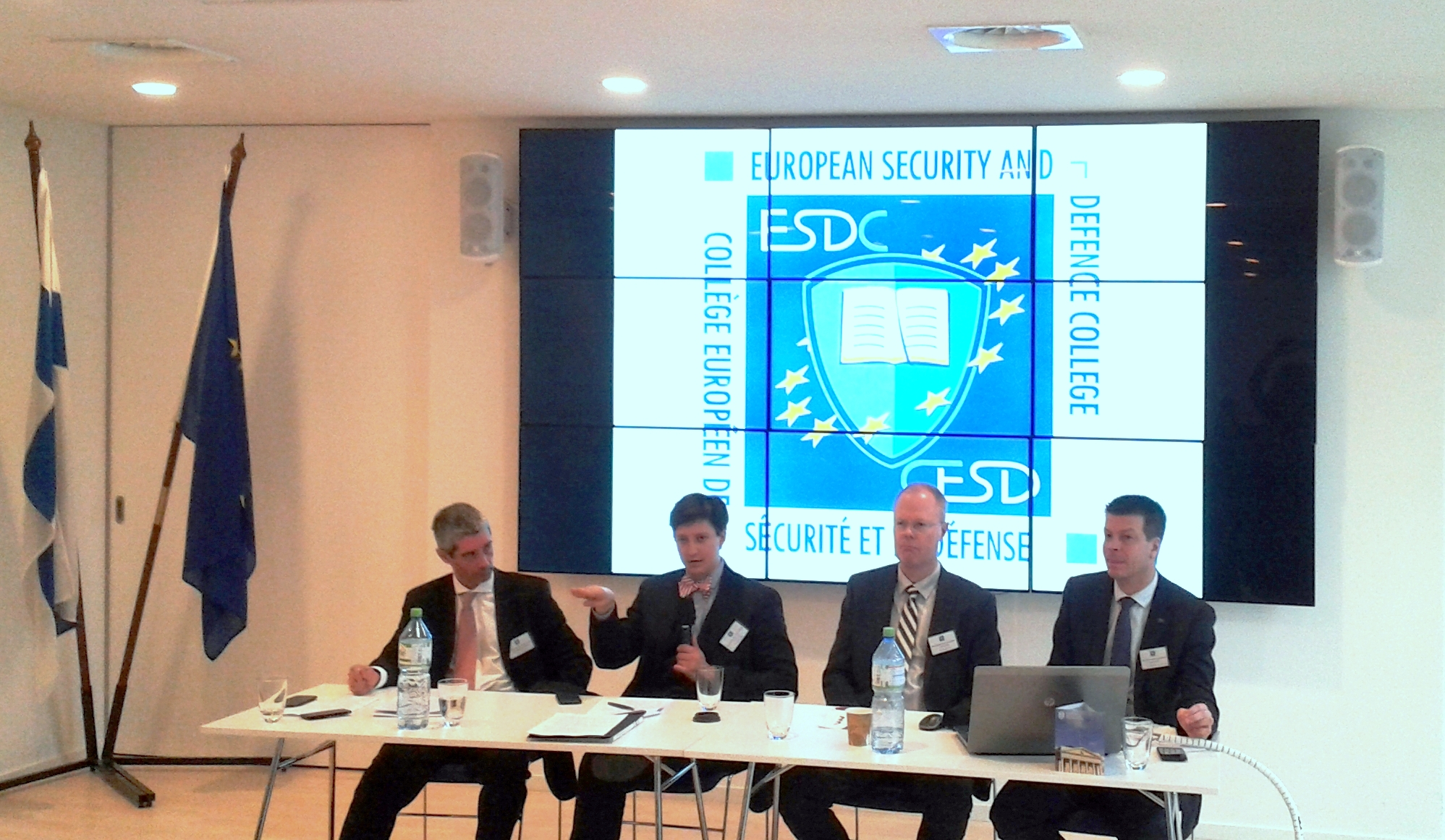 Image for ICDS Researcher Speaks at the Cyber Security Seminar in Brussels, Belgium