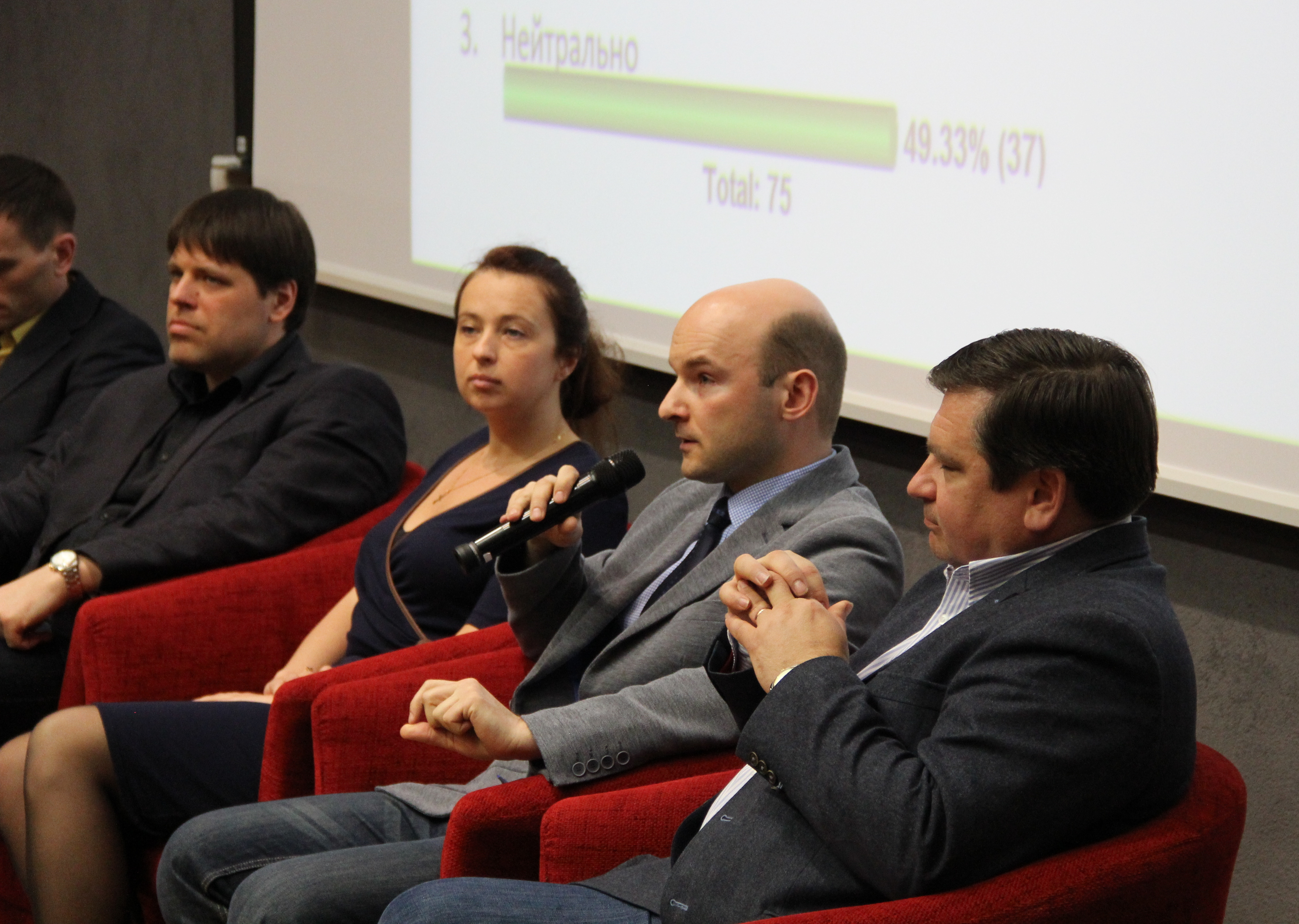 Image for Член правления МЦОБ принял в Нарве участие в открытой дискуссии по теме военных беженцев