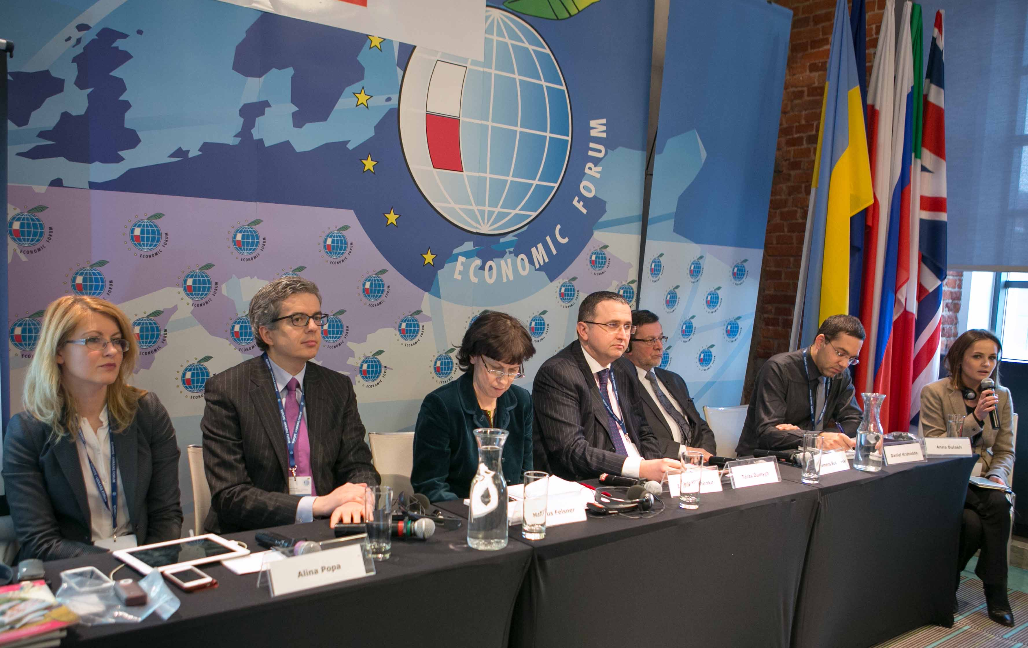 Image for ICDS Researchers Participate in Europe-Ukraine Forum