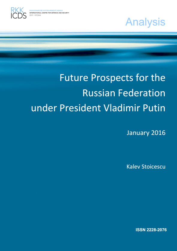 Image for Future Prospects for the Russian Federation under President Vladimir Putin