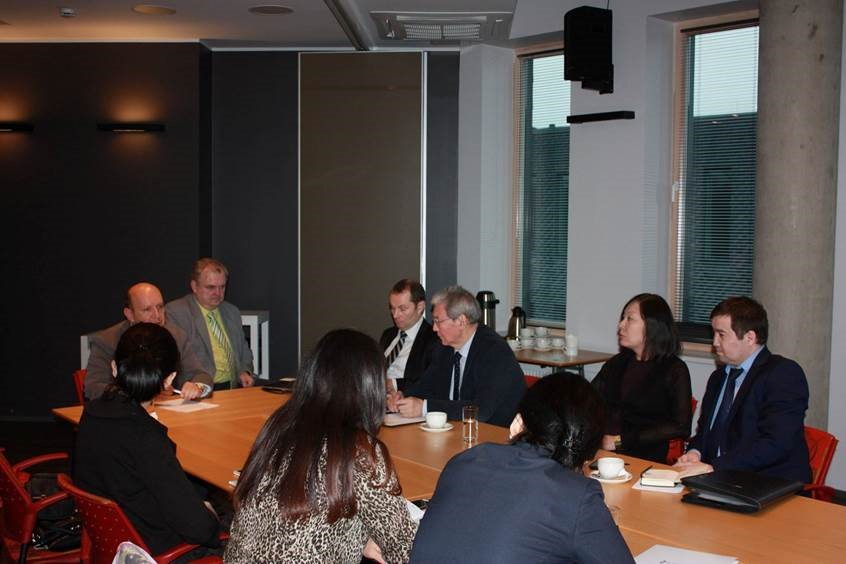Image for ICDS Researchers Discuss European Security with Kazakhstan's Delegation