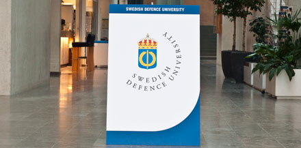 Image for Visit by Students and Staff from the Swedish Defence University