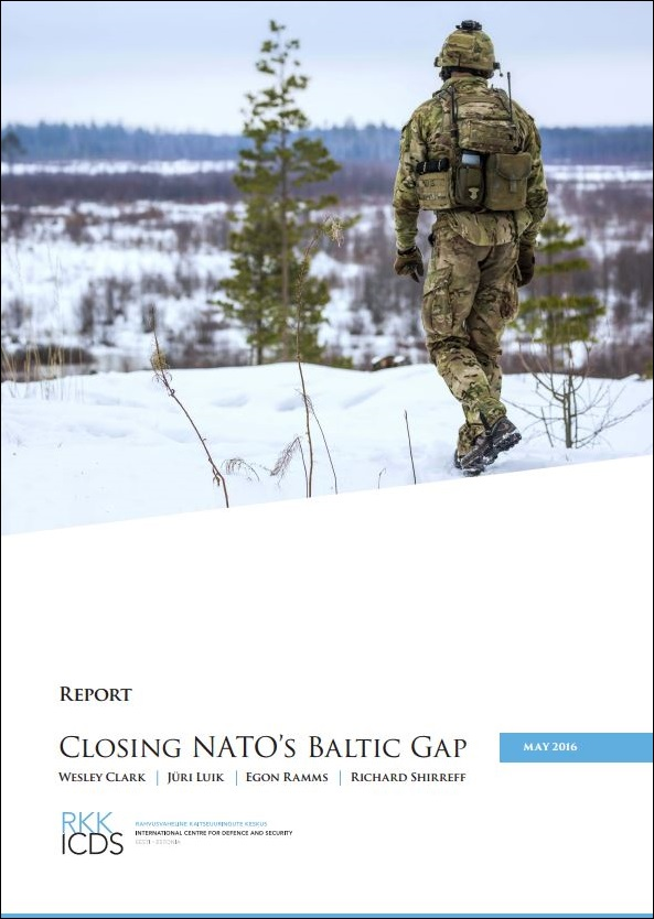 Image for Closing NATO's Baltic Gap