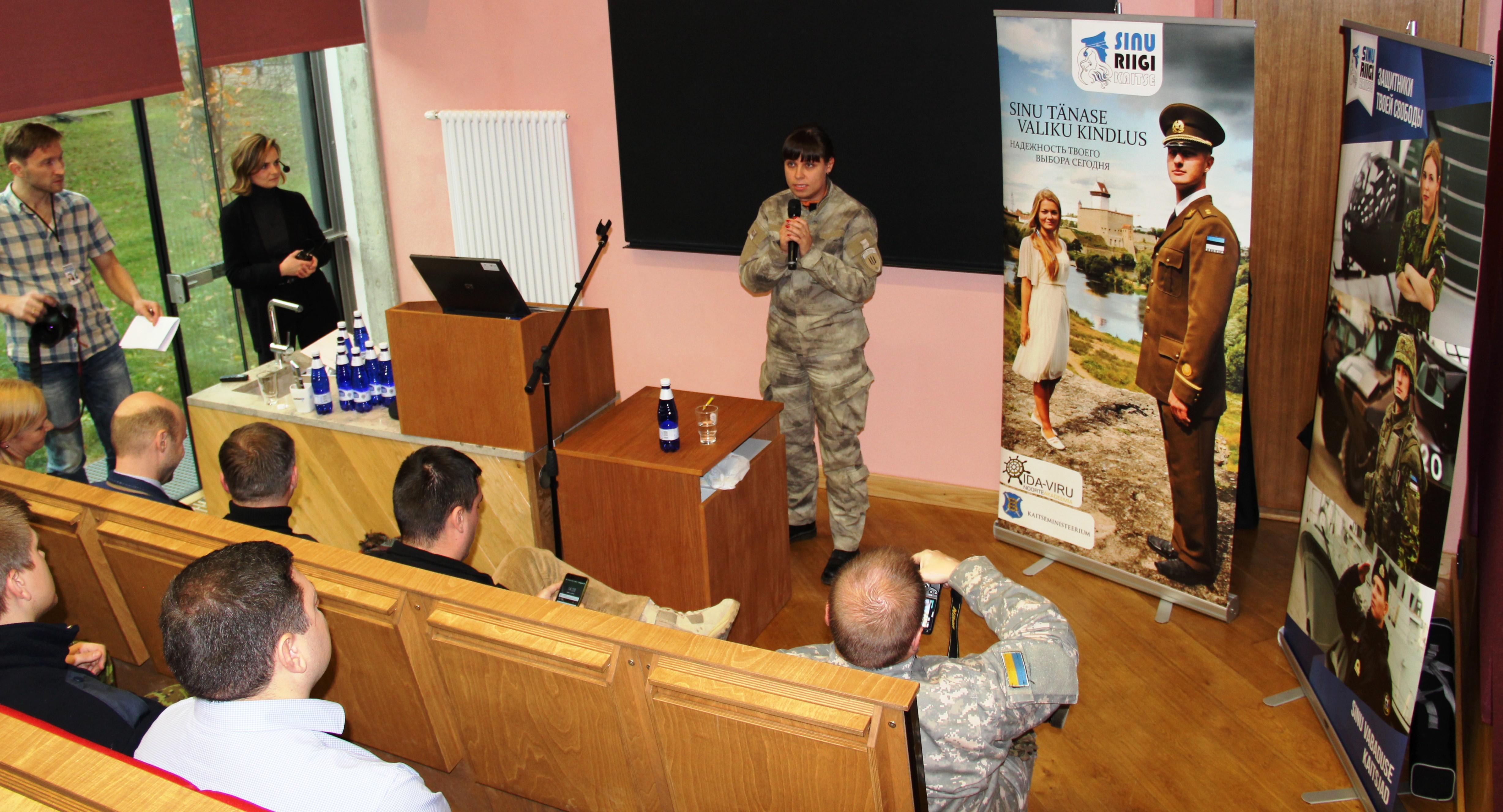 Image for Narvas toimus seminar vabatahtlike rollist riigis