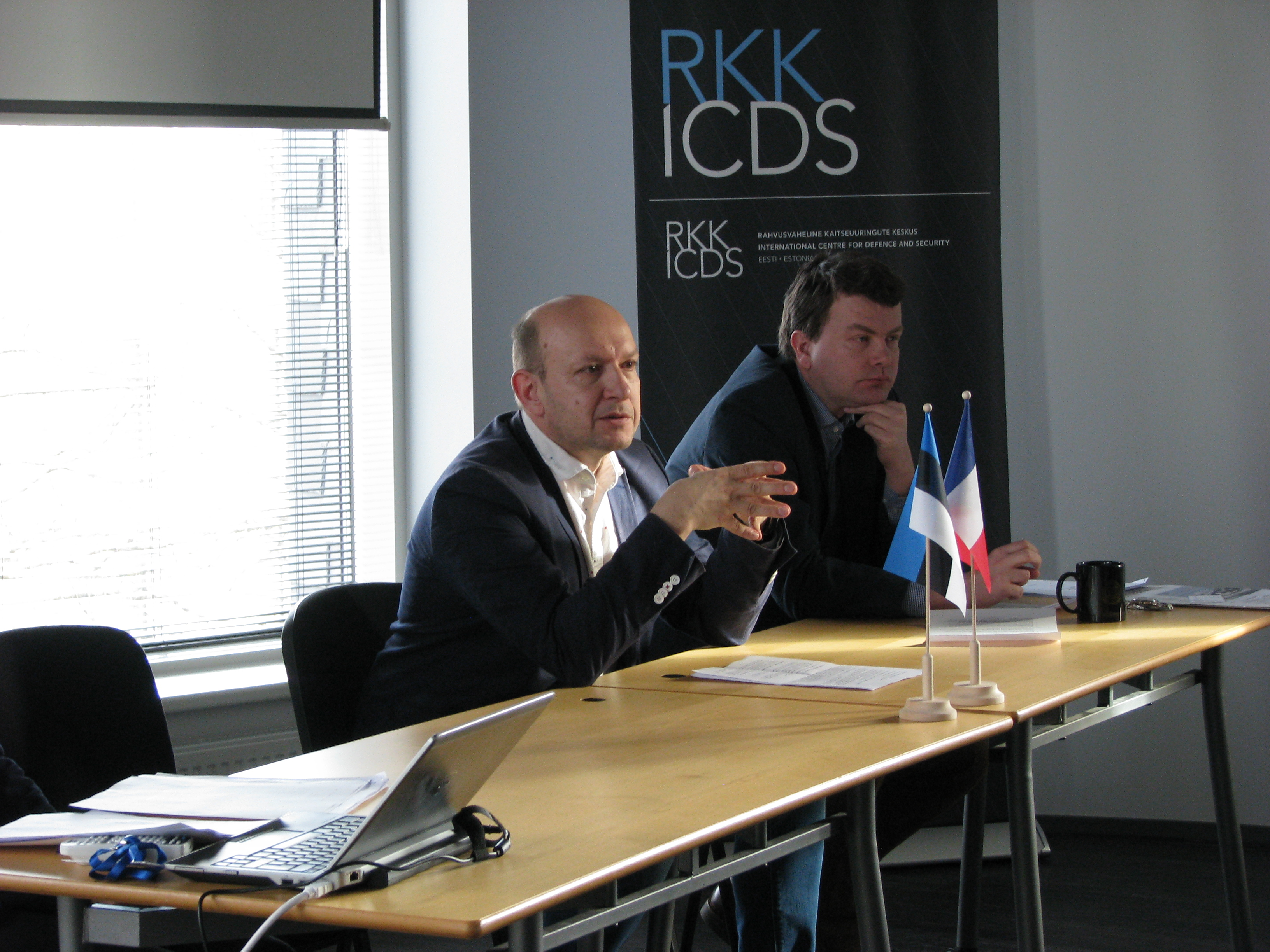 Image for French Delegation from the IHEDN Visiting ICDS