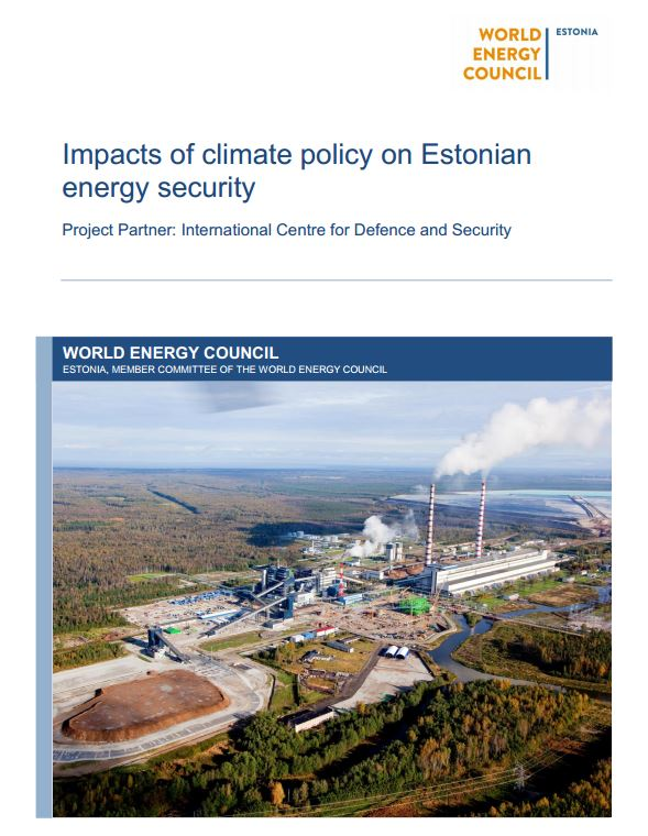 Image for Impacts of Climate Policy on Estonian Energy Security