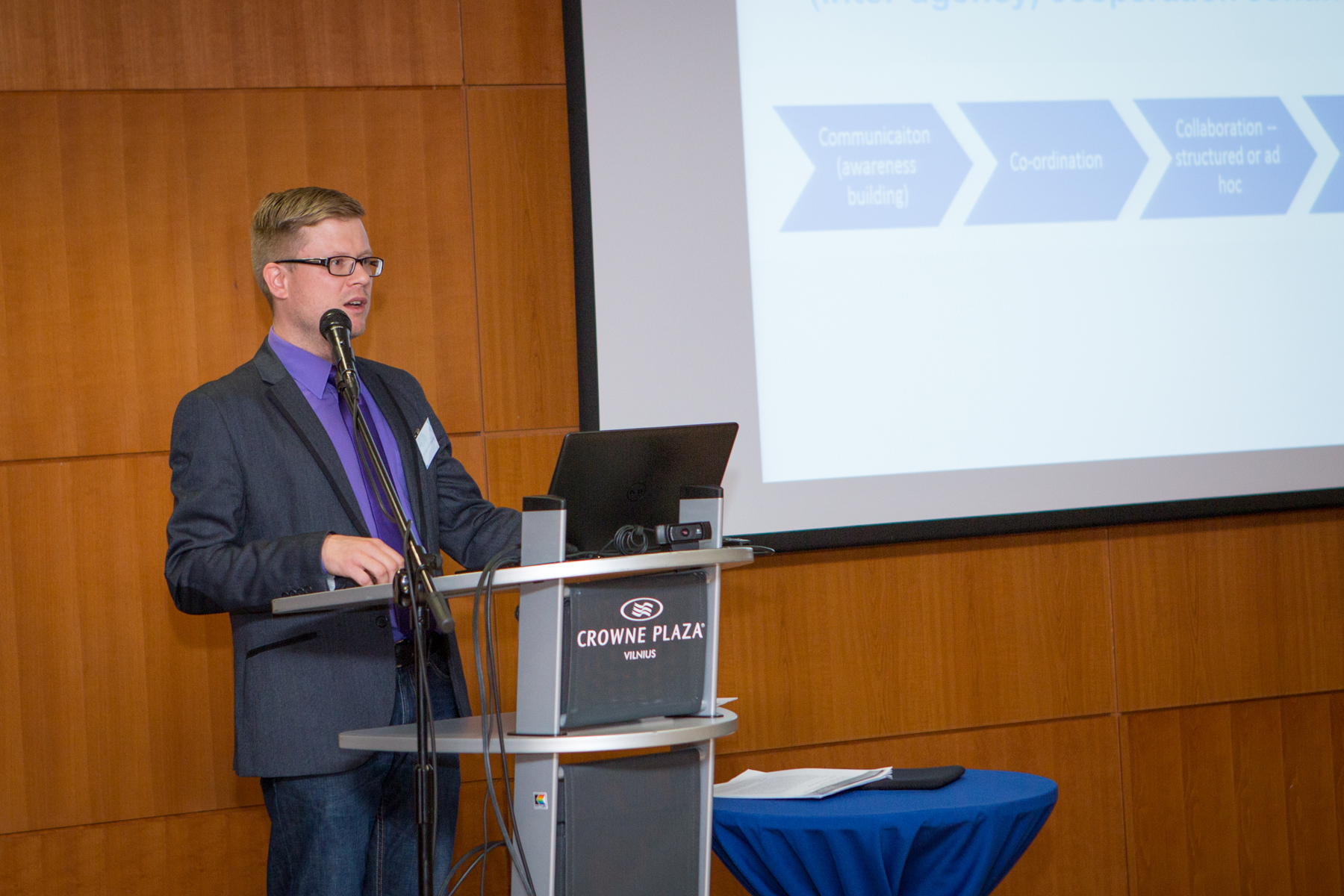 Image for ICDS Representative Speaks at the 2nd Baltic Defence Innovation Conference