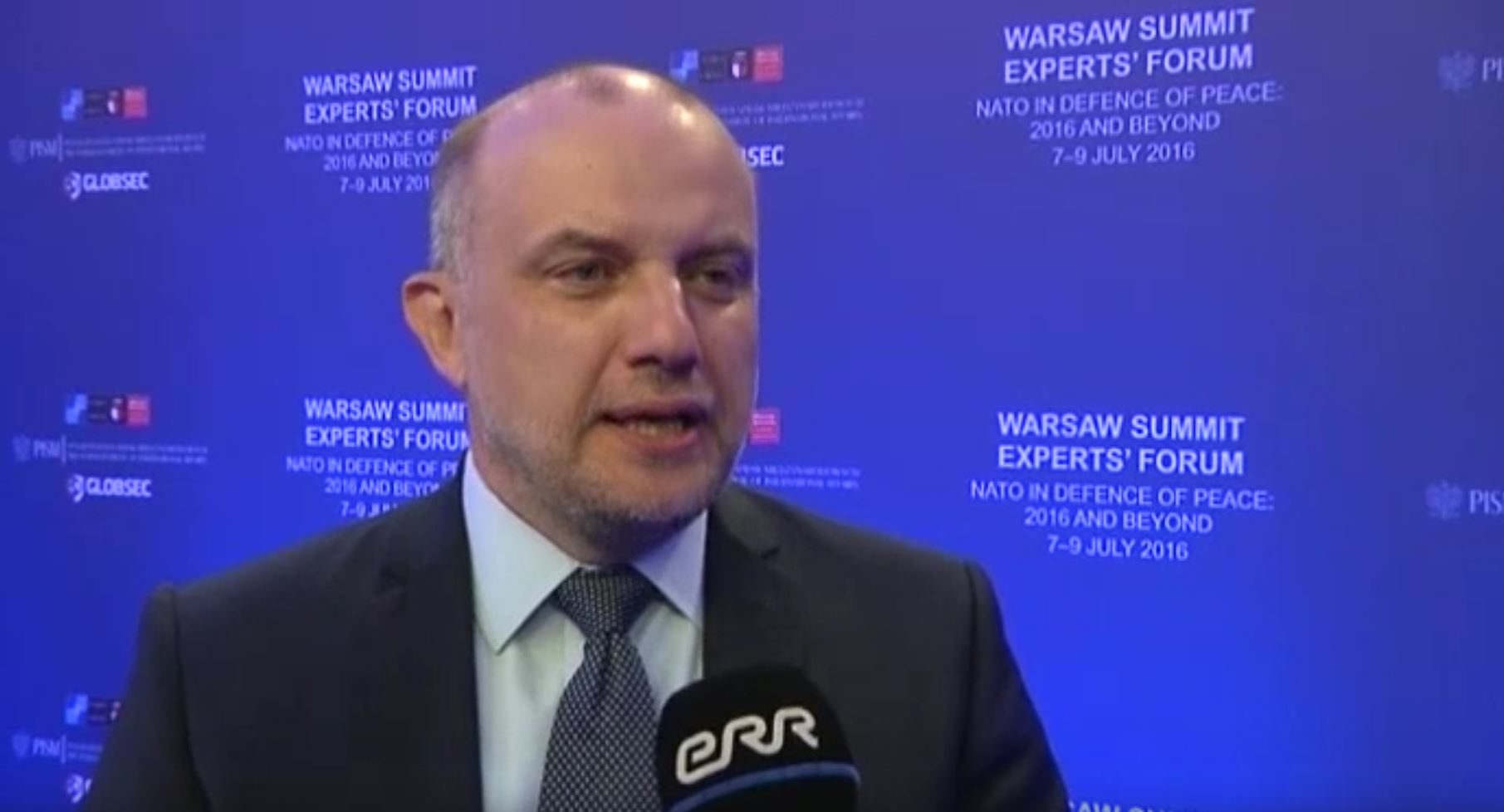 Image for Директор Юри Луйк рассказал в интервью Радио 4 о решениях, принятых на Варшавском Саммите НАТО.