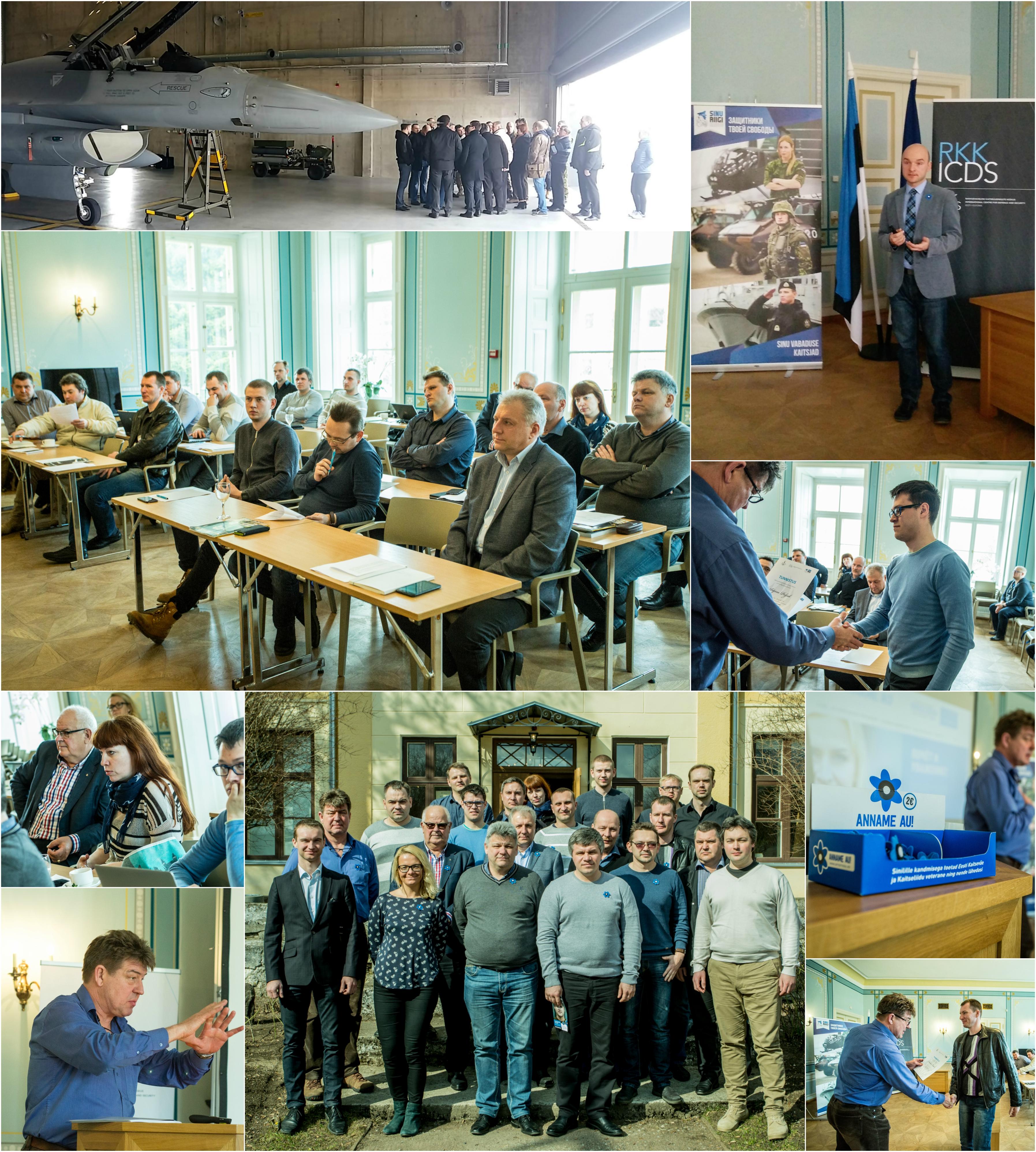 Image for Прошли Высшие курсы по государственной обороне для предпринимателей и журналистов Ида-Виру