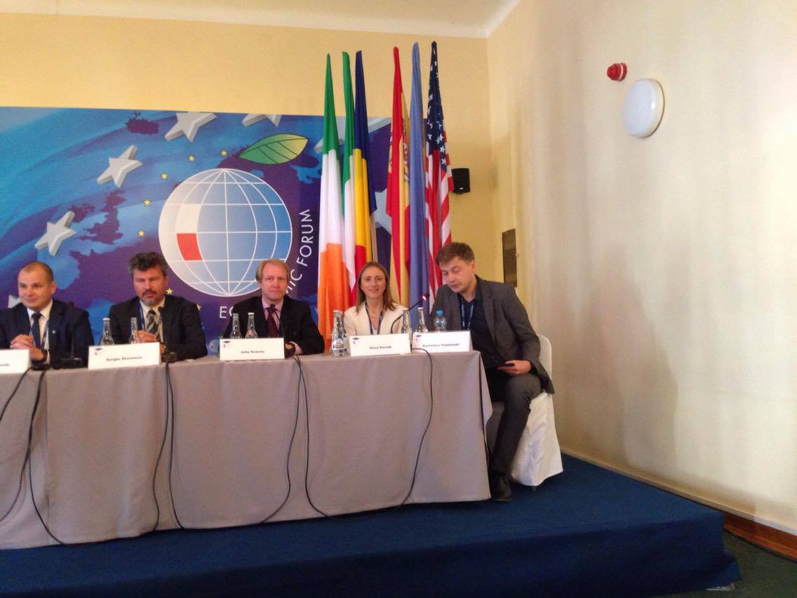 Image for ICDS Research Fellow Speaks at the XXVI Economic Forum in Krynica, Poland