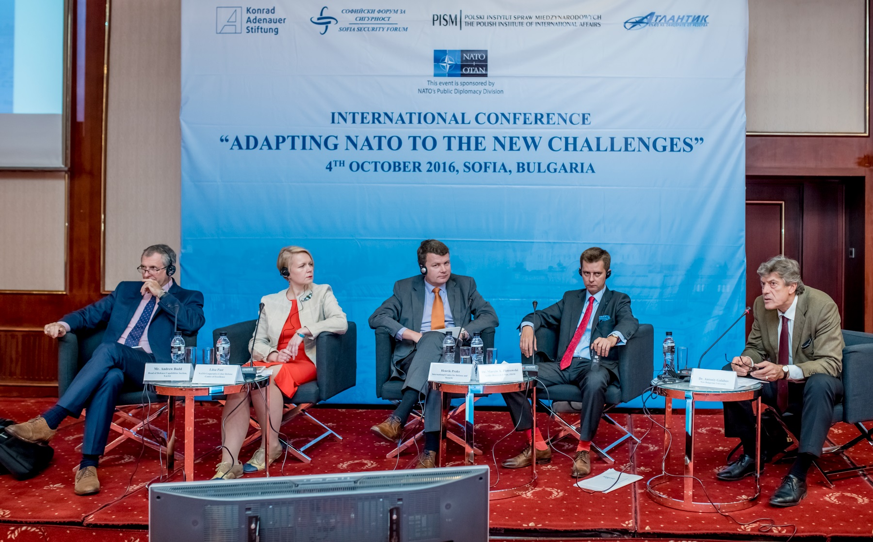 Image for ICDS Representative Speaks at a NATO Conference in Sofia