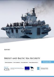 Image for Brexit and Baltic Sea Security