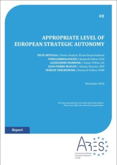 Image for Appropriate Level of European Strategic Autonomy