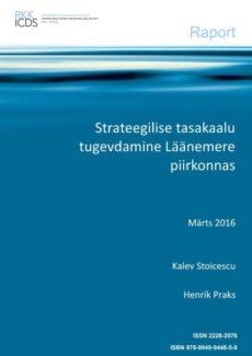 Image for Strateegilise tasakaalu tugevdamine Läänemere piirkonnas
