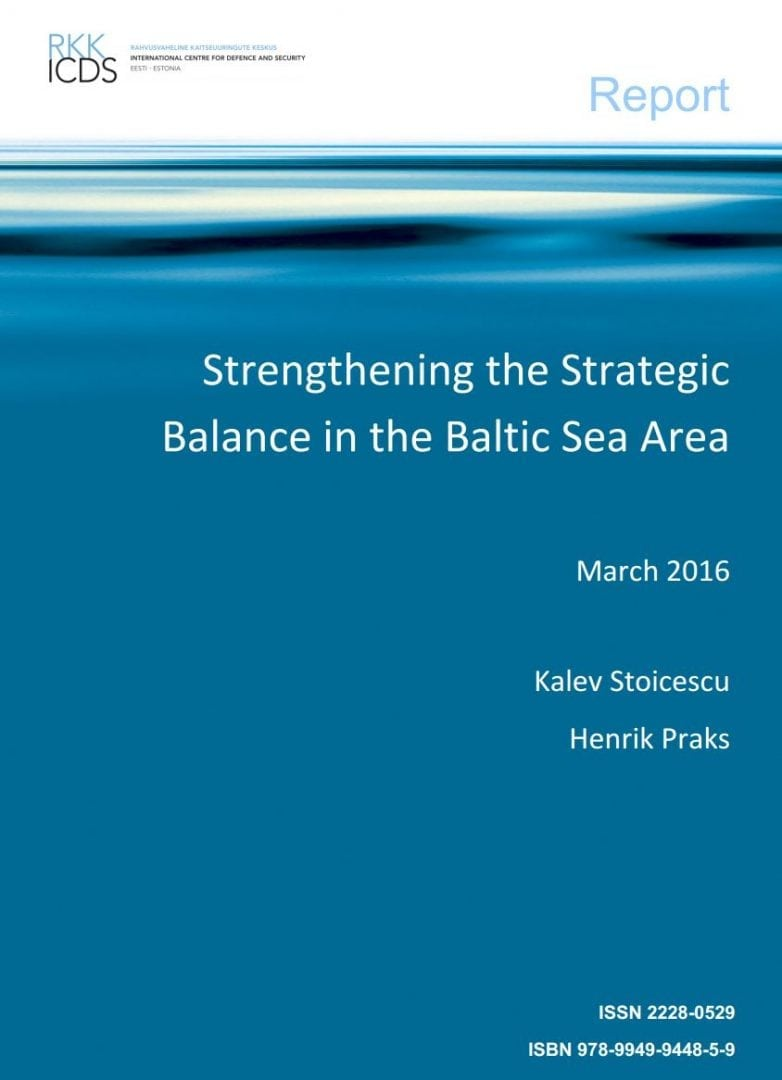 Image for Strengthening the Strategic Balance in the Baltic Sea Area