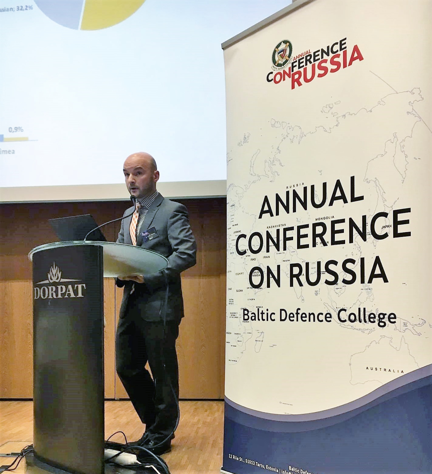 Image for Dmitri Teperik at the BALTDEFCOL Annual Conference on Russia 2017