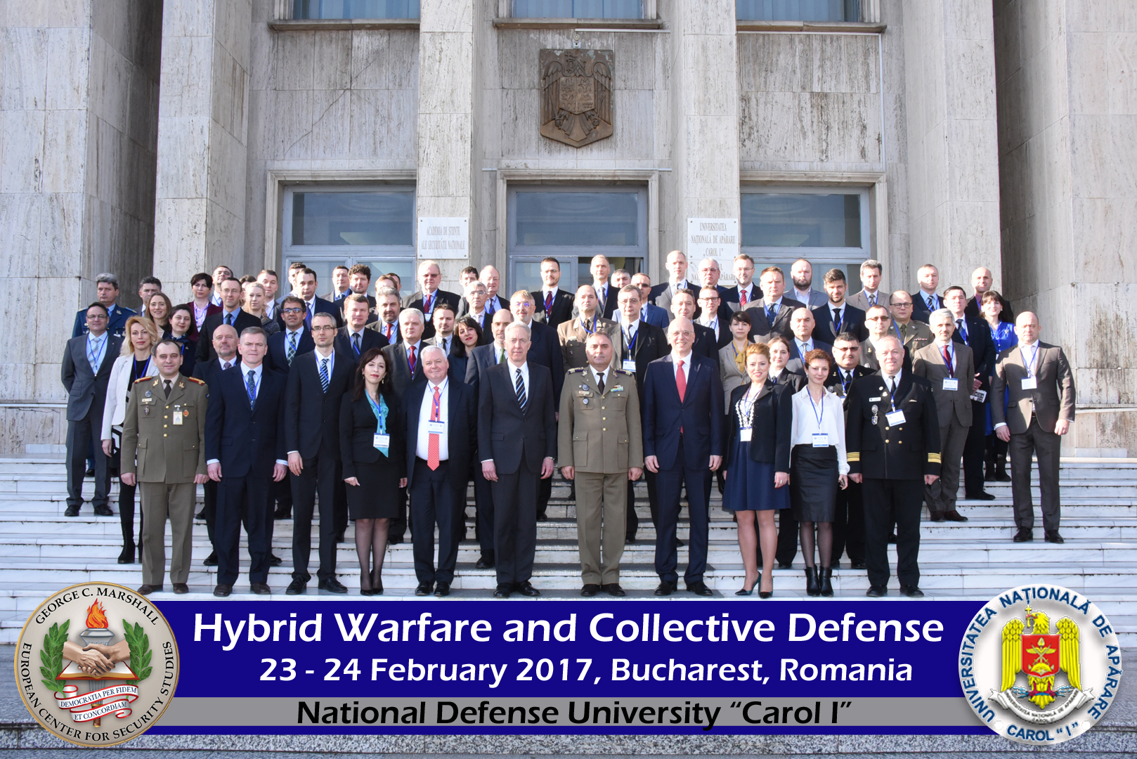 "Image for ICDS Representatives Speaking at The ""Hybrid Warfare and Collective Defence"" Seminar in Bucharest"