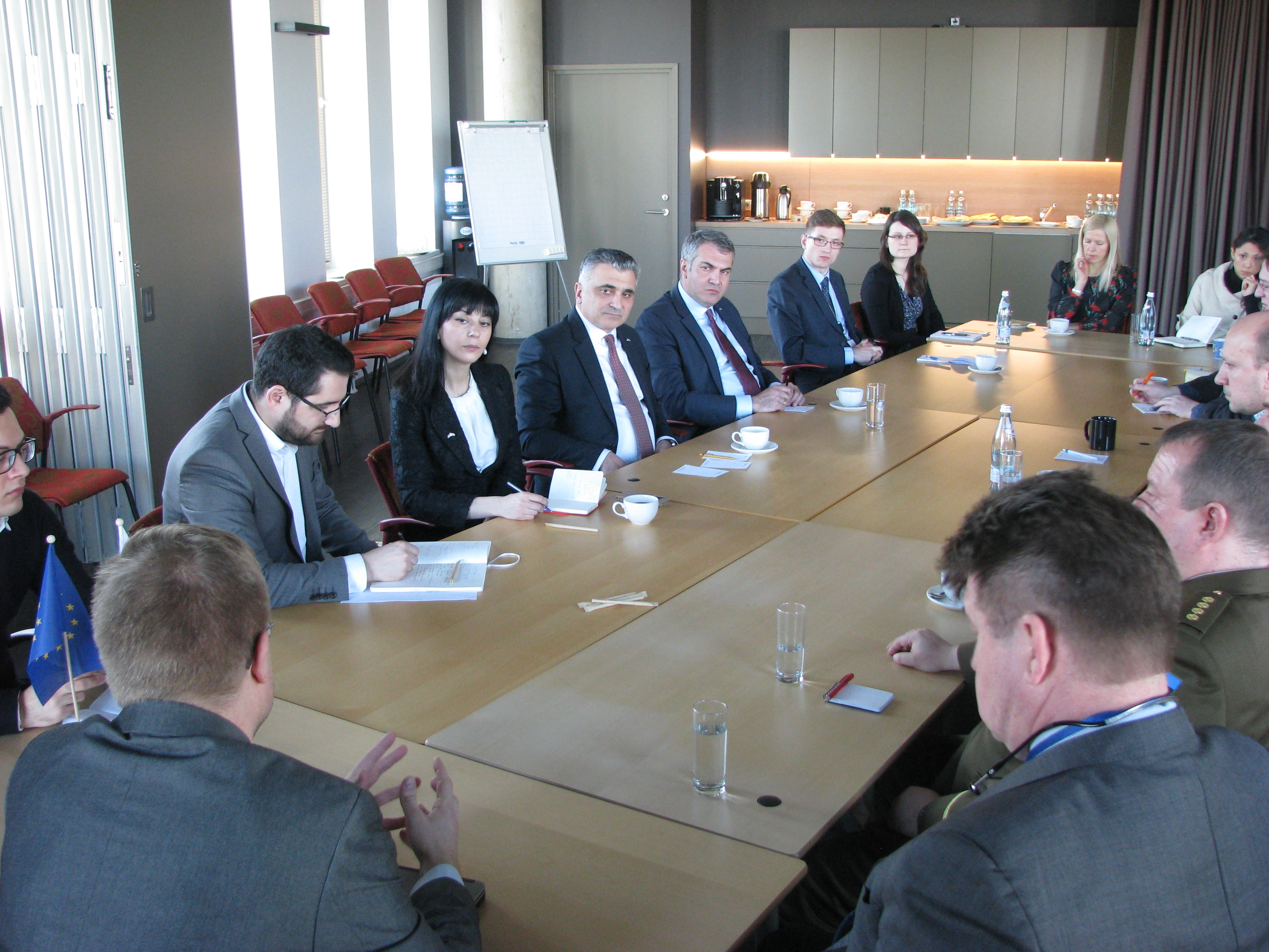 Image for Secretary of the National Security Council of Georgia Mr. David Rakviashvili's visit to ICDS