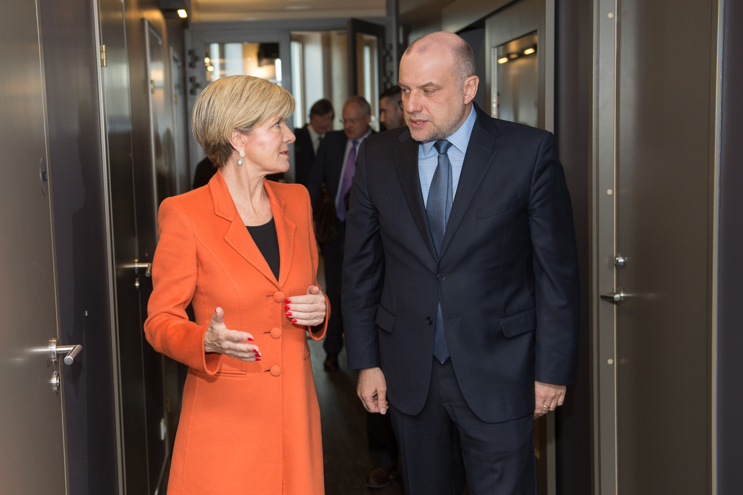 Image for A Visit by Australia's Foreign Minister, the Hon. Julie Bishop MP