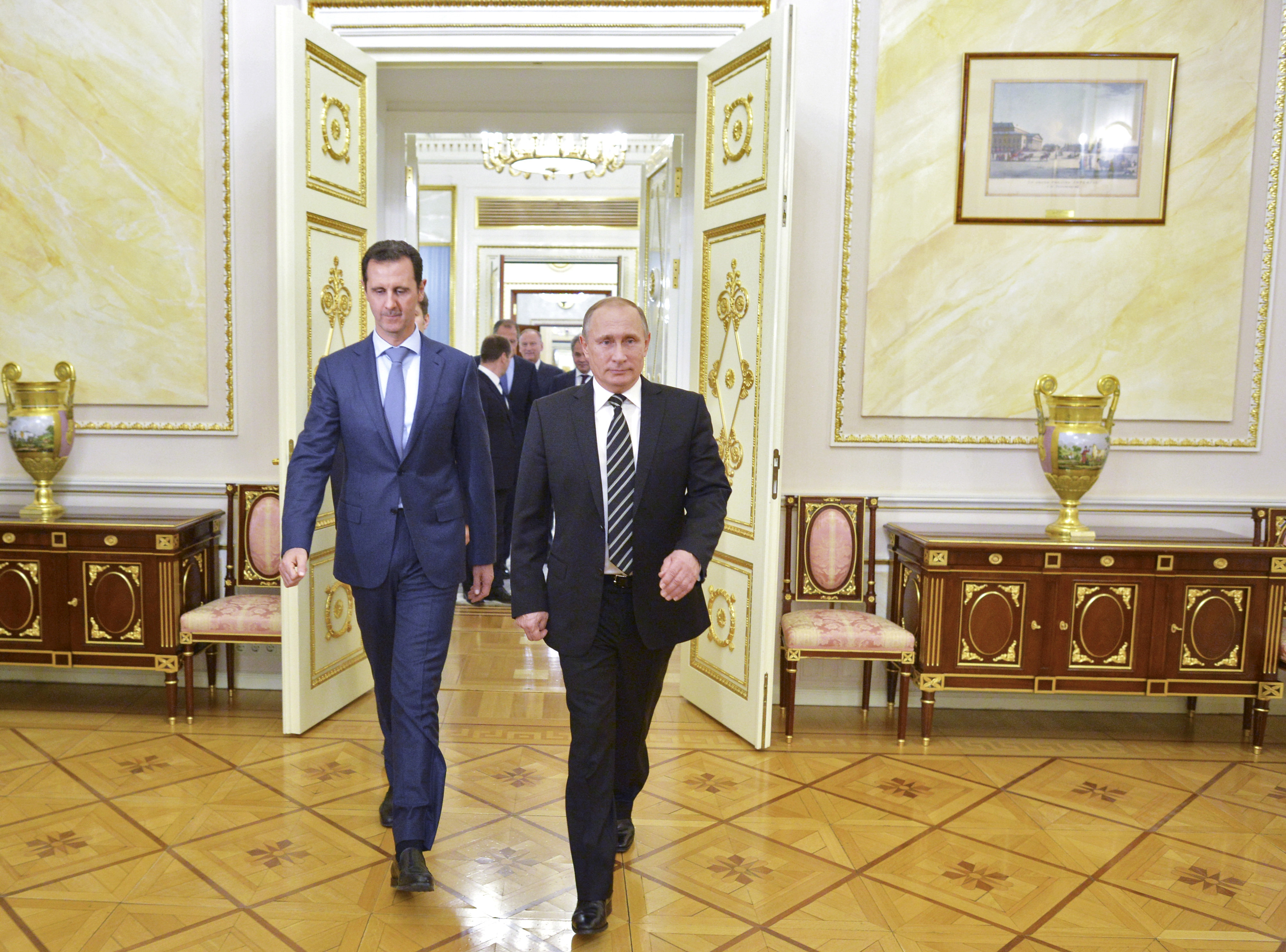 Image for Süüria rahu võtmed on Moskvas