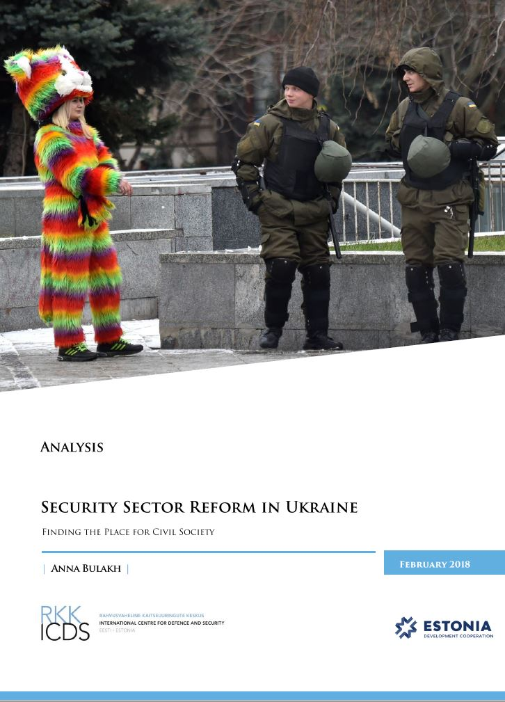 Image for Security Sector Reform, Resilience Building and Civil Society in Ukraine