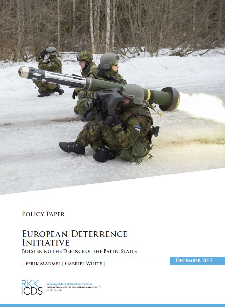 Image for European Deterrence Initiative: Bolstering the Defence of the Baltic States