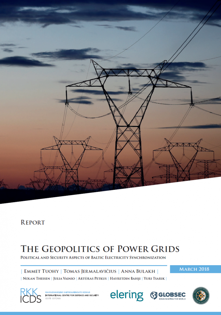 Image for The Geopolitics of Power Grids: Political and Security Aspects of Baltic Synchronization