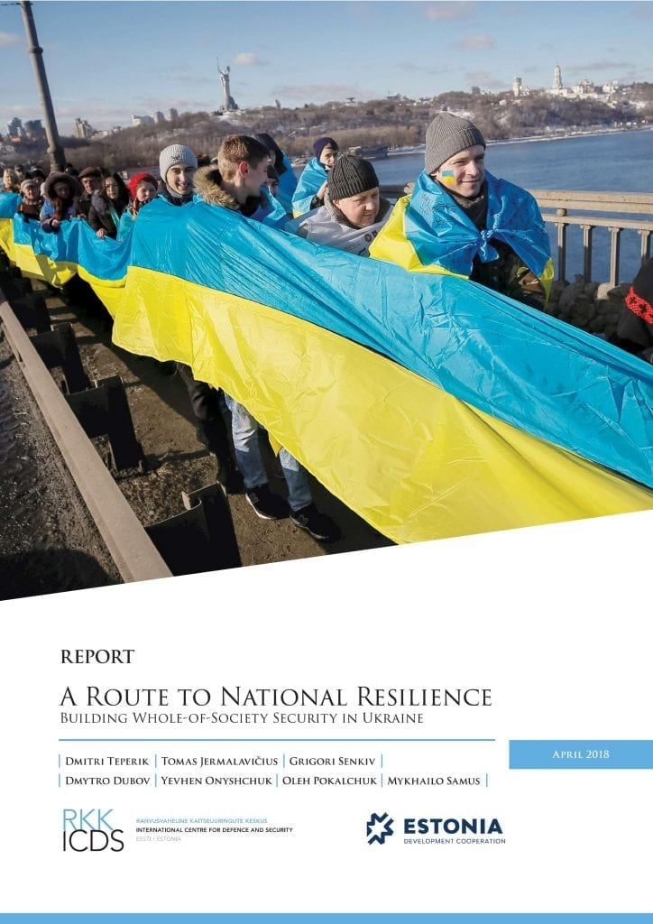 Image for A Route to National Resilience: Building Whole-of-Society Security in Ukraine