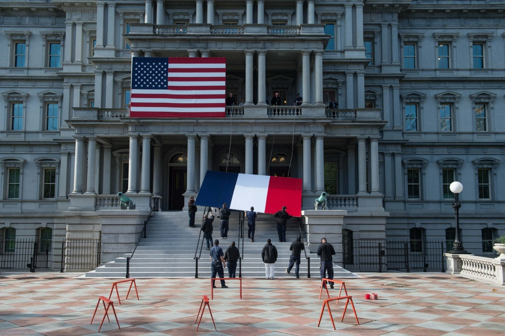 Image for Macron and Merkel in the White House: Back to Interests and Bilateral Relations Driven International Politics