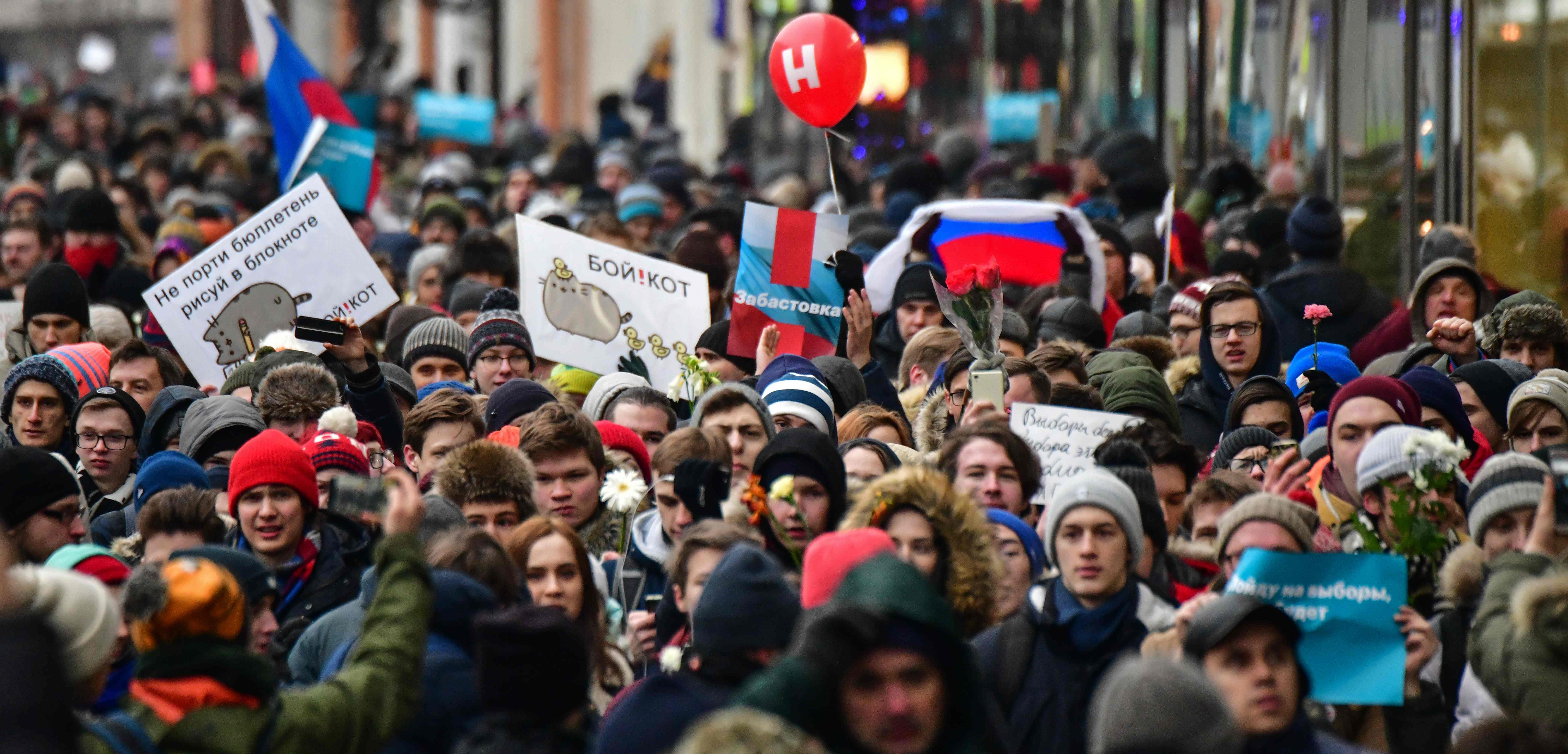 Image for Elections and Hopelessness in Russia