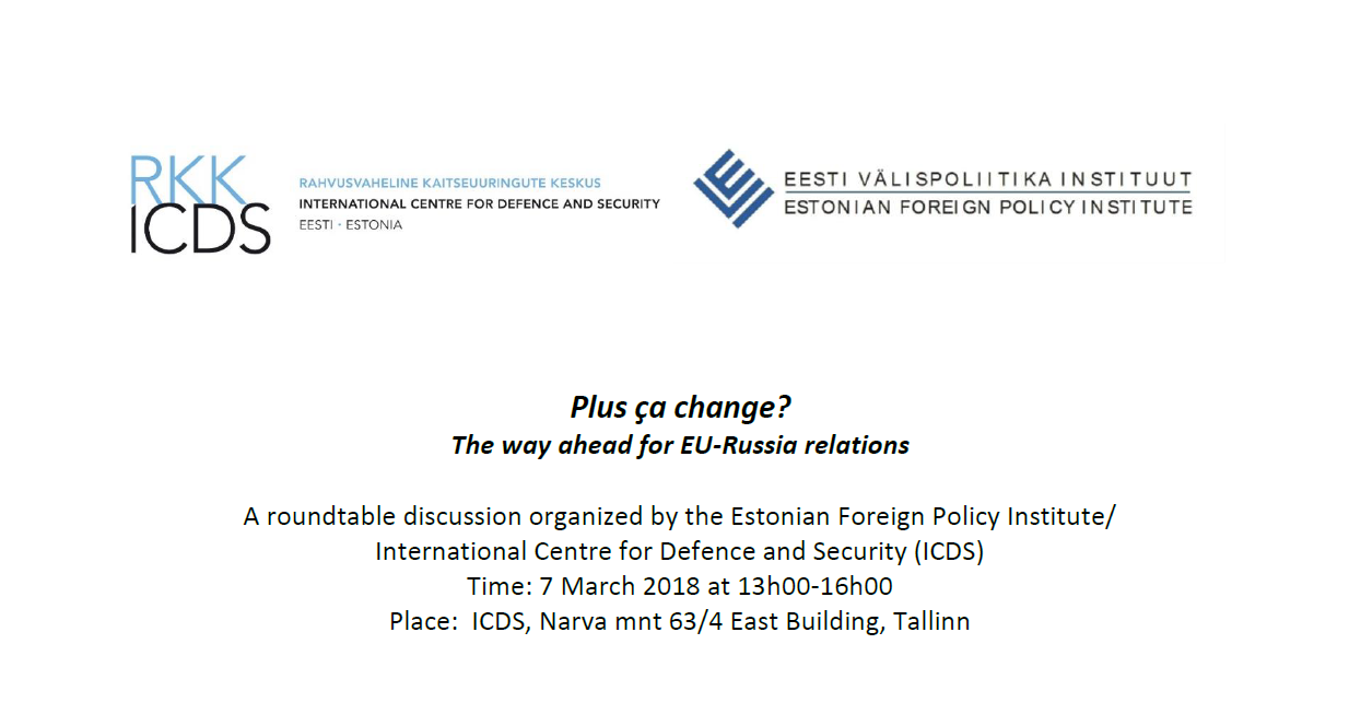 "Image for Roundtable Discussion on ""The Way Ahead for EU-Russia Relations"""