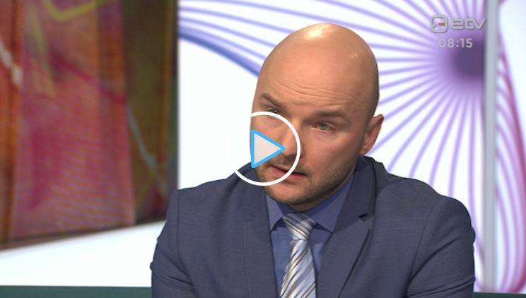 Image for RKK tegevjuht Dmitri Teperik rääkis Terevisioonis Baltimaade vastupanuvõimest propagandale
