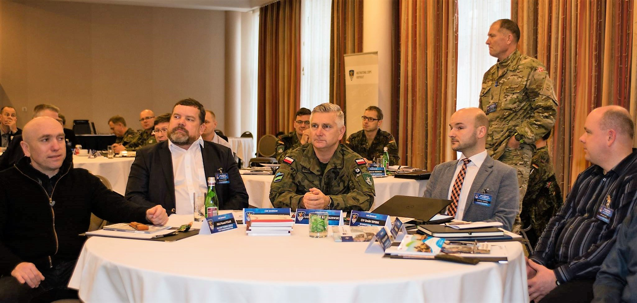 Image for Dmitri Teperik Briefed CIMIC Officers on Russia's Hostile Activities against Estonia