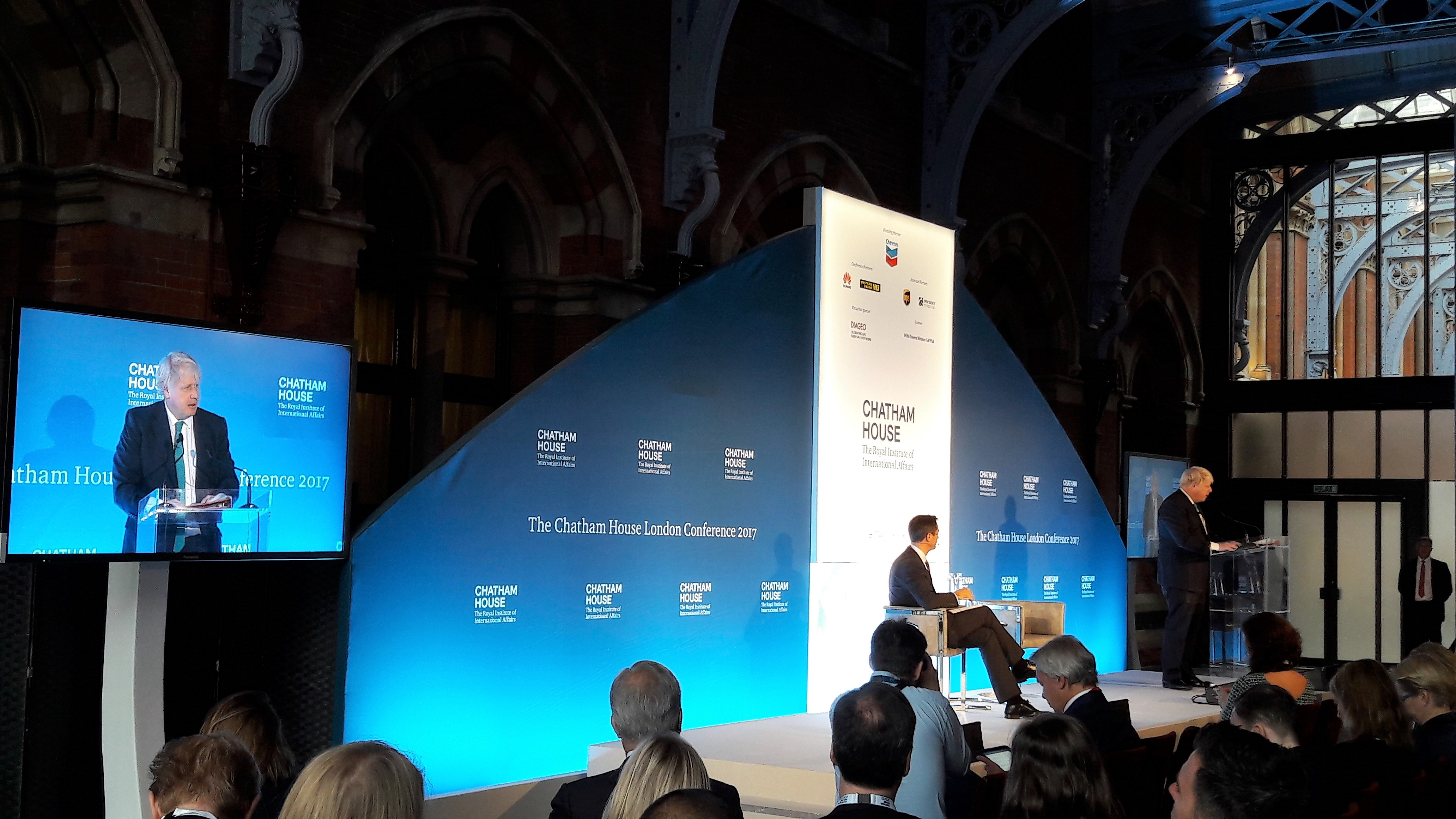 Image for ICDS Chief Executive Participated in the 2017 Chatham House London Conference